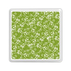 Fancy Floral Pattern Memory Card Reader (square)