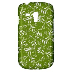 Fancy Floral Pattern Samsung Galaxy S3 Mini I8190 Hardshell Case