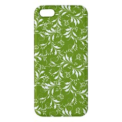 Fancy Floral Pattern Iphone 5s/ Se Premium Hardshell Case
