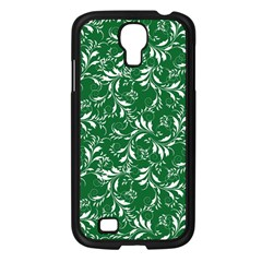 Fancy Floral Pattern Samsung Galaxy S4 I9500/ I9505 Case (black)