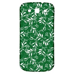 Fancy Floral Pattern Samsung Galaxy S3 S Iii Classic Hardshell Back Case