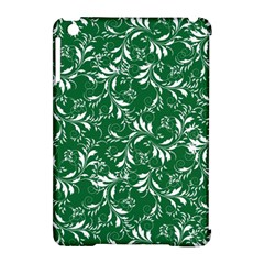 Fancy Floral Pattern Apple Ipad Mini Hardshell Case (compatible With Smart Cover)