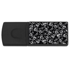 Fancy Floral Pattern Rectangular Usb Flash Drive