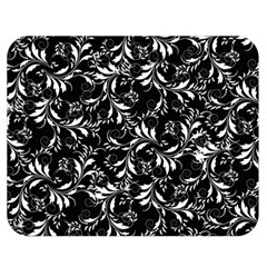 Fancy Floral Pattern Double Sided Flano Blanket (medium)