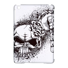 Skull And Crossbones Apple Ipad Mini Hardshell Case (compatible With Smart Cover)