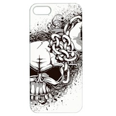 Skull And Crossbones Apple Iphone 5 Hardshell Case With Stand