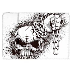 Skull And Crossbones Samsung Galaxy Tab 8 9  P7300 Flip Case
