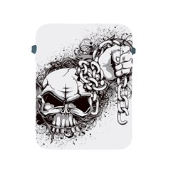 Skull And Crossbones Apple Ipad 2/3/4 Protective Soft Cases