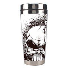 Skull And Crossbones Stainless Steel Travel Tumblers