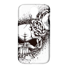 Skull And Crossbones Samsung Galaxy S4 Classic Hardshell Case (pc+silicone)