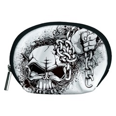 Skull And Crossbones Accessory Pouch (medium)