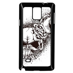 Skull And Crossbones Samsung Galaxy Note 4 Case (black) by Alisyart