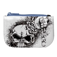 Skull And Crossbones Large Coin Purse