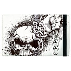 Skull And Crossbones Apple Ipad Pro 12 9   Flip Case
