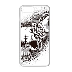 Skull And Crossbones Apple Iphone 7 Plus Seamless Case (white)