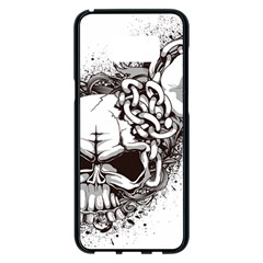 Skull And Crossbones Samsung Galaxy S8 Plus Black Seamless Case