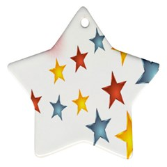 Star Rainbow Ornament (star)