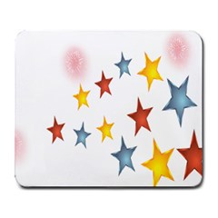 Star Rainbow Large Mousepads