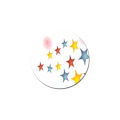 Star Rainbow Golf Ball Marker (10 Pack)