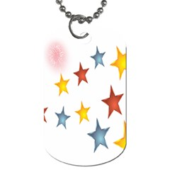 Star Rainbow Dog Tag (two Sides)