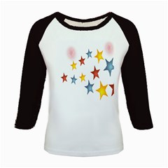 Star Rainbow Kids Baseball Jerseys