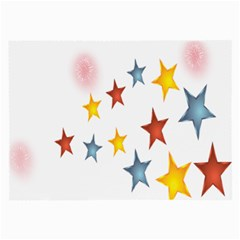 Star Rainbow Large Glasses Cloth (2 Side)