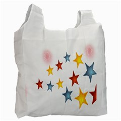 Star Rainbow Recycle Bag (two Side)