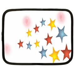 Star Rainbow Netbook Case (xxl)
