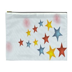 Star Rainbow Cosmetic Bag (xl)
