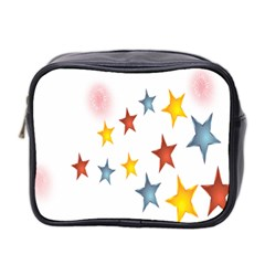 Star Rainbow Mini Toiletries Bag (two Sides)