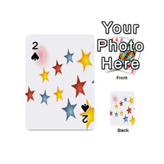 Star Rainbow Playing Cards 54 (mini)