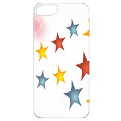 Star Rainbow Apple Iphone 5 Classic Hardshell Case