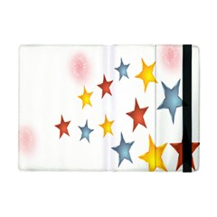 Star Rainbow Apple Ipad Mini Flip Case