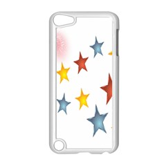 Star Rainbow Apple Ipod Touch 5 Case (white)