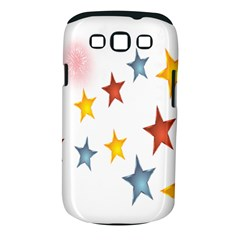 Star Rainbow Samsung Galaxy S Iii Classic Hardshell Case (pc+silicone)