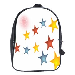 Star Rainbow School Bag (xl)
