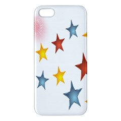 Star Rainbow Iphone 5s/ Se Premium Hardshell Case