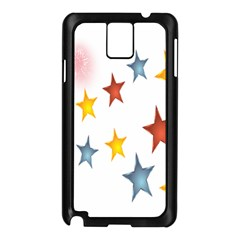 Star Rainbow Samsung Galaxy Note 3 N9005 Case (black)