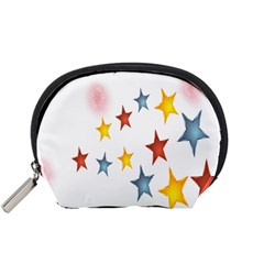 Star Rainbow Accessory Pouch (small)