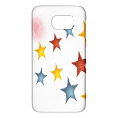 Star Rainbow Samsung Galaxy S6 Hardshell Case