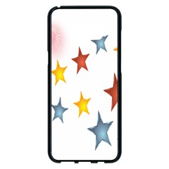 Star Rainbow Samsung Galaxy S8 Plus Black Seamless Case