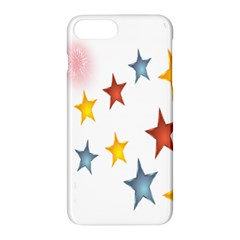Star Rainbow Apple Iphone 8 Plus Hardshell Case