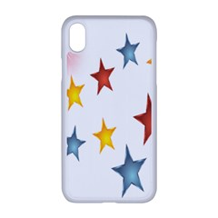 Star Rainbow Apple Iphone Xr Seamless Case (white)