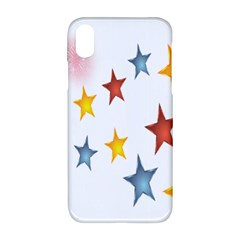 Star Rainbow Apple Iphone Xr Hardshell Case