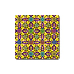 Tile Background Geometric Square Magnet