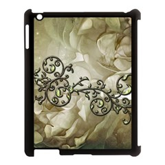 A Touch Of Vintage Apple Ipad 3/4 Case (black) by FantasyWorld7