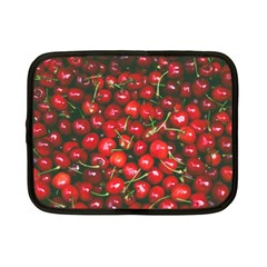 Cherries Jubilee Netbook Case (small) by WensdaiAmbrose