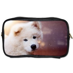 Puppy Love Toiletries Bag (two Sides) by WensdaiAddamns