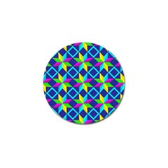 Pattern Star Abstract Background Golf Ball Marker