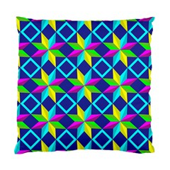Pattern Star Abstract Background Standard Cushion Case (one Side)